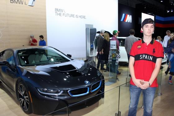 BMW i8 @ LA Auto Show by PV