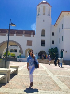 Me, so excited to be back to school! #GradSchoolAdventures #SDSU